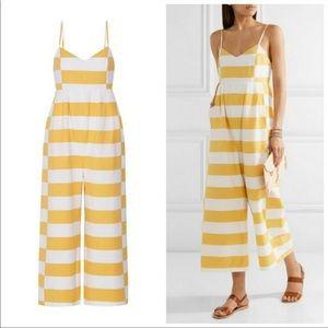 MARA HOFFMAN Striped organic cotton jumpsuit 4